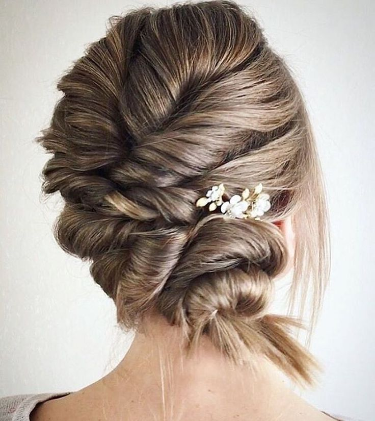 Effortless Bridesmaid Upstyles: Best 25+ Elegant Updo Ideas On Pinterest