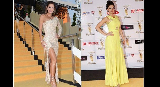 Las estrellas brillan en la alfombra de Premios TVyNovelas 2014