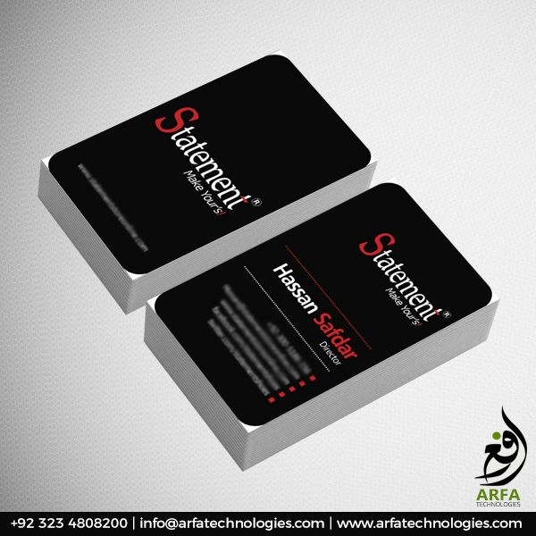 Statement Shoes Business Card Design Business Card Design Cool Business Cards Business Card Design Creative