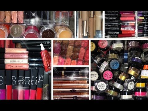 MY MAKEUP COLLECTION 2014 - This is the collection of a professional, just for comparison.