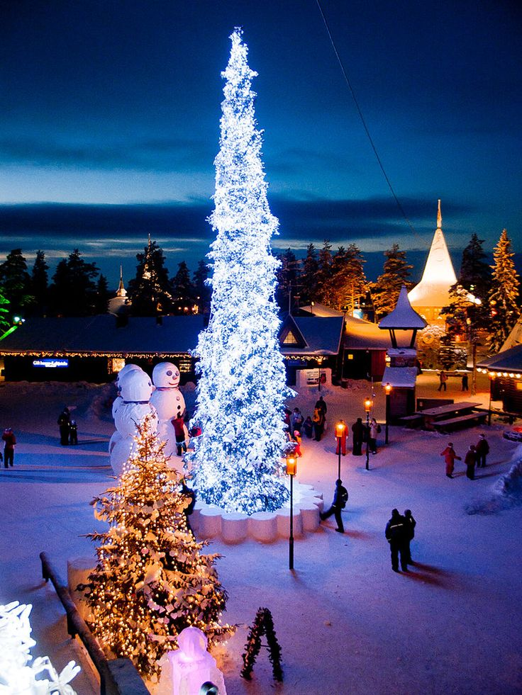 Santa Claus Village, Rovaniemi, Finland with thedreamtravelgroup.co.uk/lapland-trips