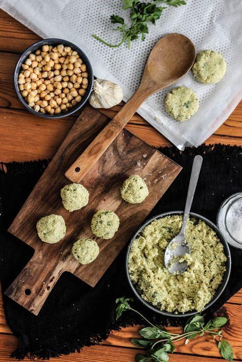 Recette facile de falafels au 4