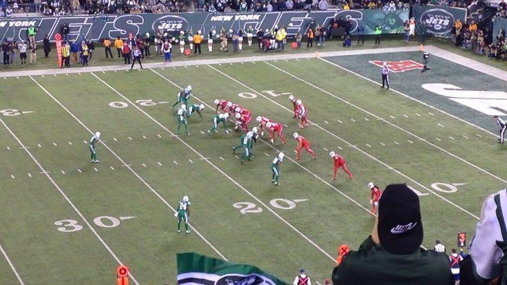 The Jets vs Bills at MetLife stadium
