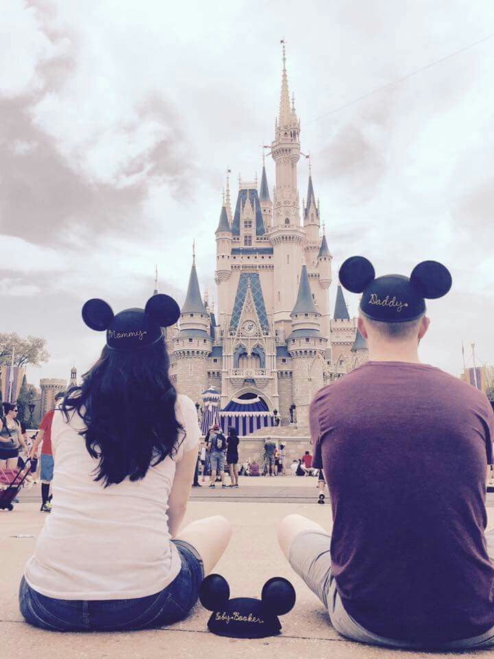Disney Theme Parks While Pregnant Announcement