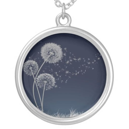 I like the dandelions on this necklace. Would be perfect for my tattoo.