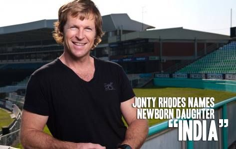 Its a proud moment for India. #daughter #India #coreathletics #Jonty Rhodes
