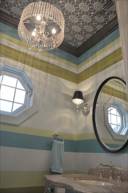 1000 images about half bath on pinterest toilets for Bathroom ceiling paint
