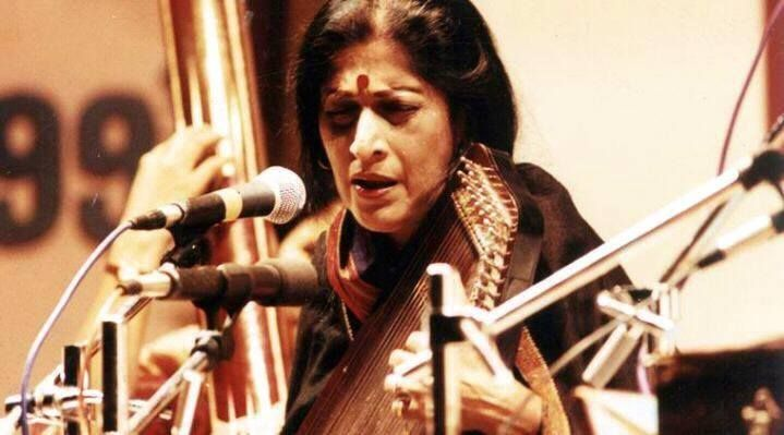 Smt.Kishori Amonkar (10th April 1932 - 03rd April 2017), the noted Hindustani Classical #Singer, #Kishori #Amonkar who popularised singing #Hindustaini #Classical in #Jaipur #Gharana style