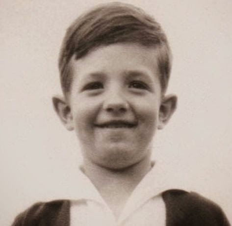 John Nash as a young child. His parents knew he was gifted in mathematics and strove to provide him with the best education possible.