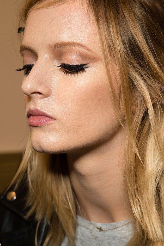 Gucci runway makeup