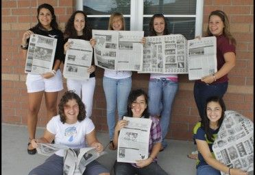 Writing a report using newspaper articles