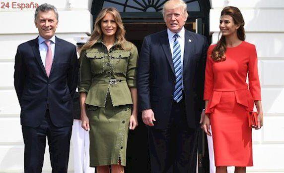 Melania Trump y Juliana Awada, dos primeras damas a la moda