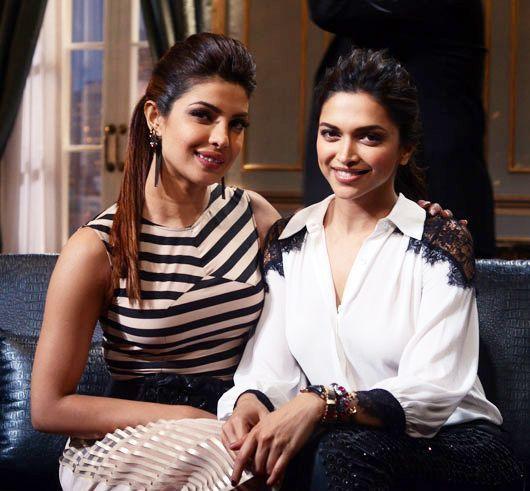 Priyanka Chopra and Deepika Padukone | #Bollywood #Celebrities #Fashion