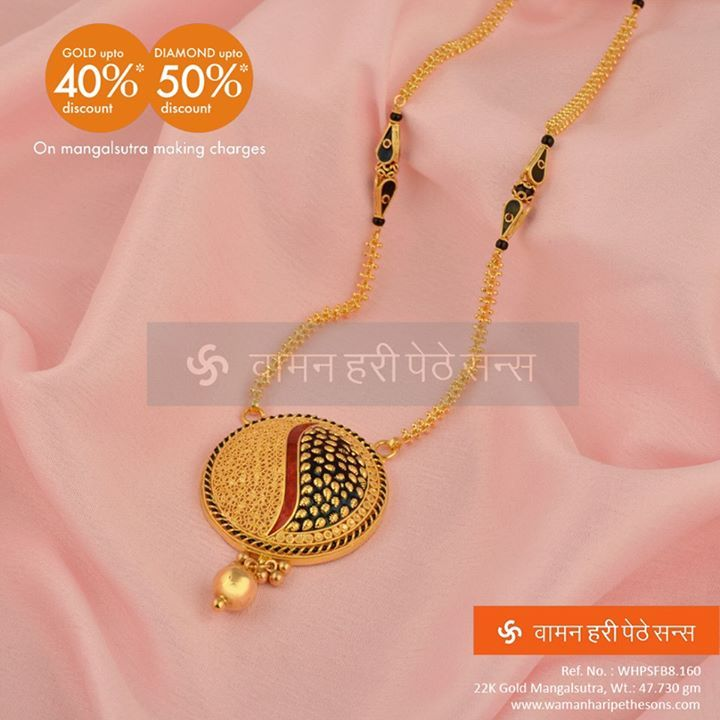 #MangalsutraFestival   #Fascinating #Stunning #Adorable #Gold #Mangalsutra for beautiful you.