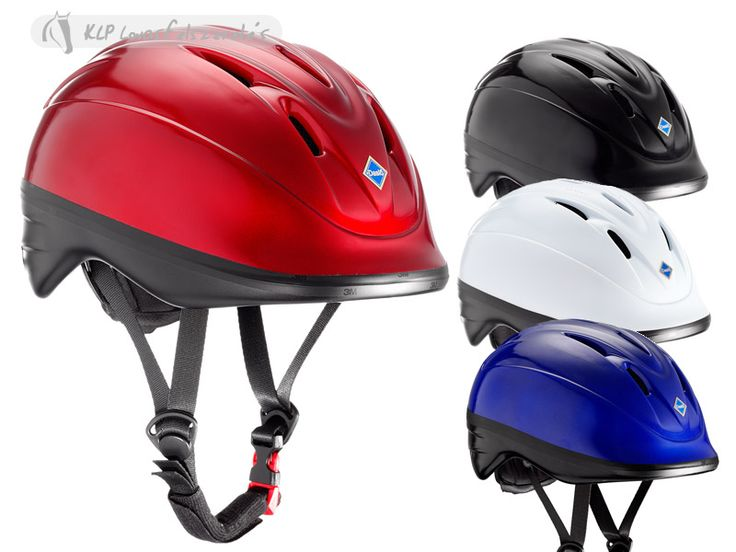 New Daslö shiny helmet - Sleek and not bulky design - Multi-air slots with mesh lining - Extra lightweight ABS shell - Rear adjustable sizing system - Removable and washable foam padding - Meets CE EN1384 Standards - Retention buckle chinstrap system - Comes with its own carrying bag  Available: from March 2014 (Size M and L will be available soon after)