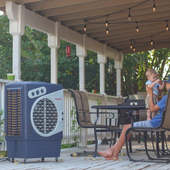 Evaporative Air Cooler For Outdoors With Images Evaporative