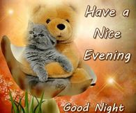Have A Nice Evening Good Night And God Bless