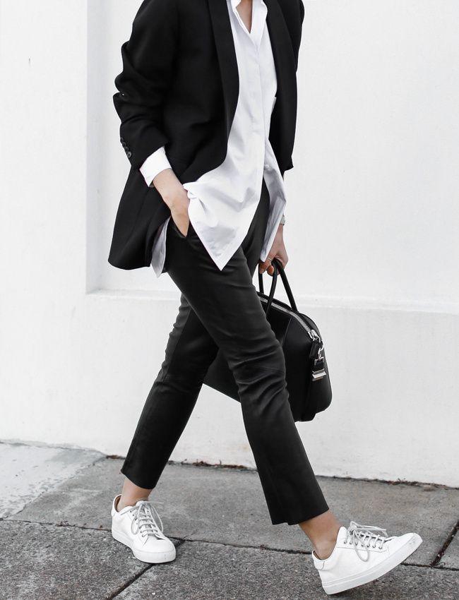 blanc 45 brves tendances mode ldp mode tha look minimaliste femme chic minimaliste chic stylisme essayer prochainement tenue hivernal