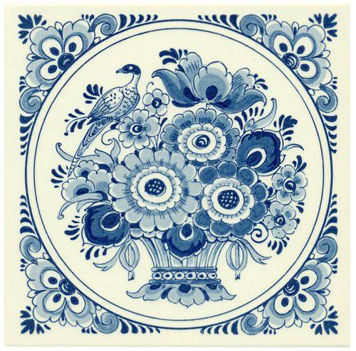 Russian traditional Gzhel porcelain.