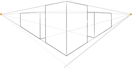 Perspective Drawing for Beginners   Two-Point Perspective