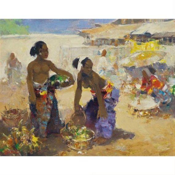 Gerard Pieter Adolfs - Pasar Bali