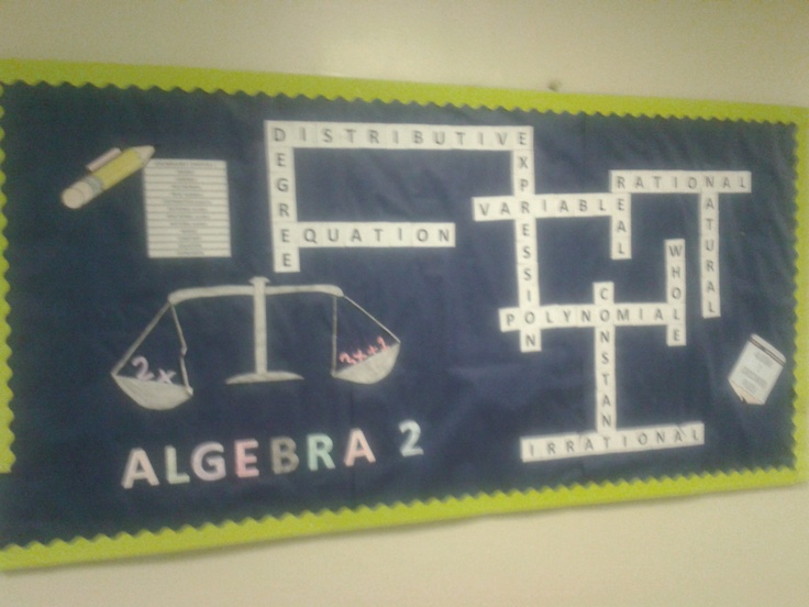 Algebra Bulletin Board