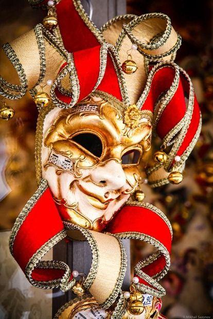 Италия: венецианские карнавальные маски