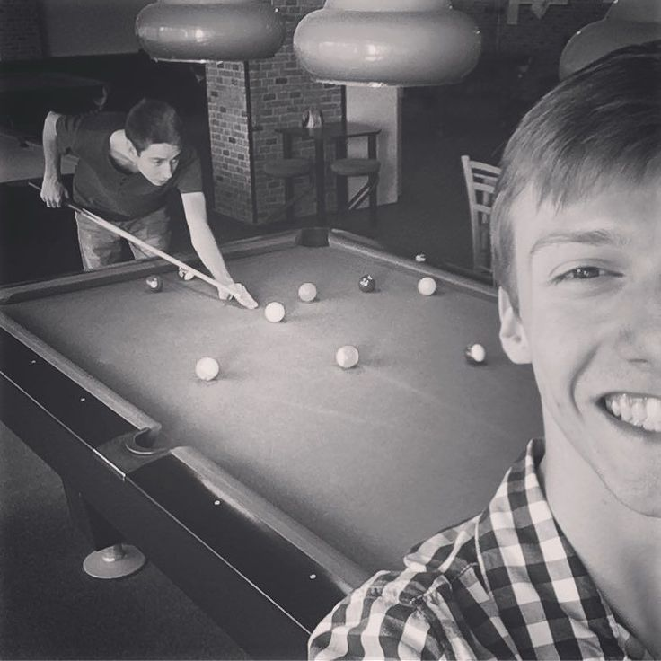Sometimes all I need is a good game of pool and a beer with friends. No raving music and crowded pubs. Just not to fall into a stereotype.  #friends #friend #me #pool #awesome #beer #good #time #together #reunion #back #friendshipgoals #blackandwhite #photo #fun #play #win #smile #game #great #evening #nostress #happy #missit