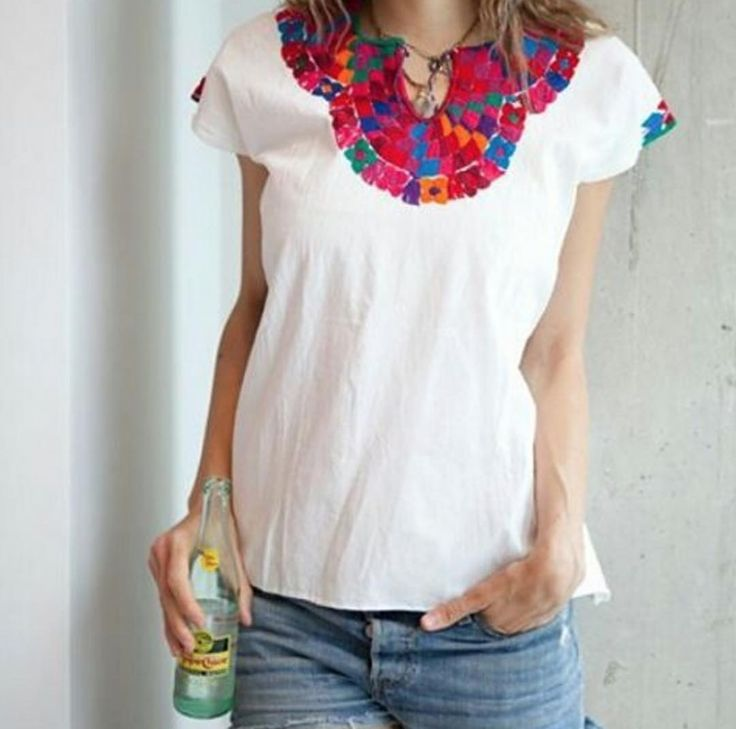 Lili blouse perfect for your next weekend! - azucarmaria.com