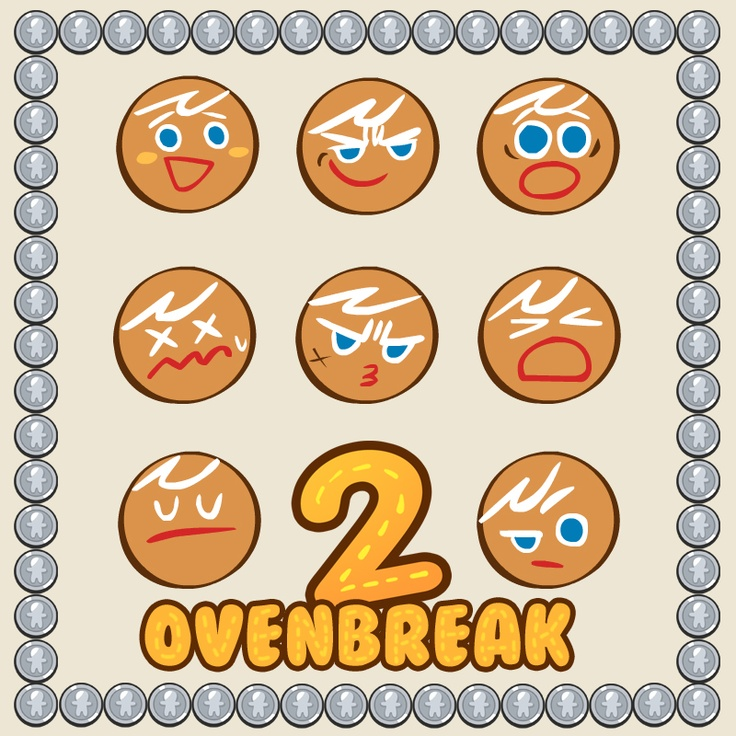 If you ever wondered what OvenBreak emoticons would look like...
