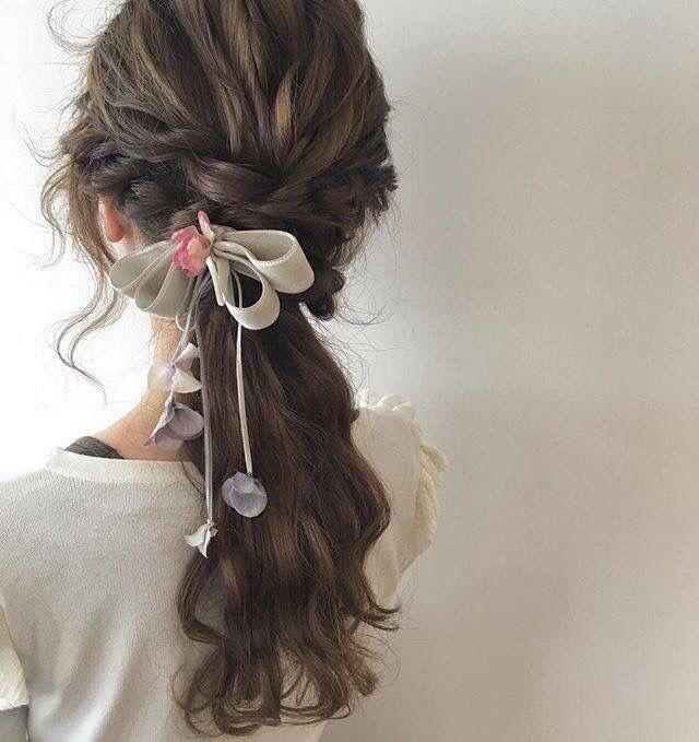Cute Asian hair style