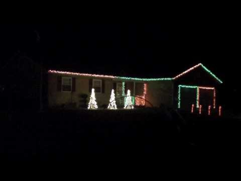 44 Best Dancing Christmas Lights Images On Pinterest Christmas  - House With Christmas Lights To Music