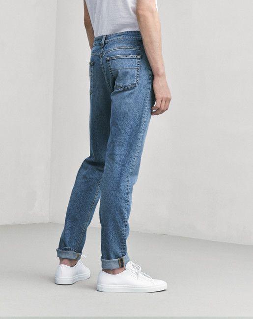 David Blue Wash Jeans - Filippa K