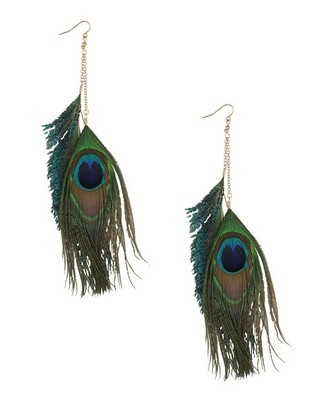 .: Feather Earrings, Peacock Feathers, Feathers Earrings, Peacock Parties, Color, Peacock Bachelorette Parties, Peacock Fashion, Blue Eyeshadows, Earrings 5 80