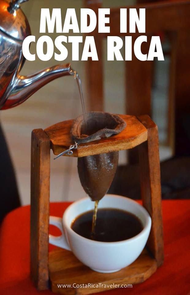 Caf chorreado   Costa Rica   Costa rica coffee