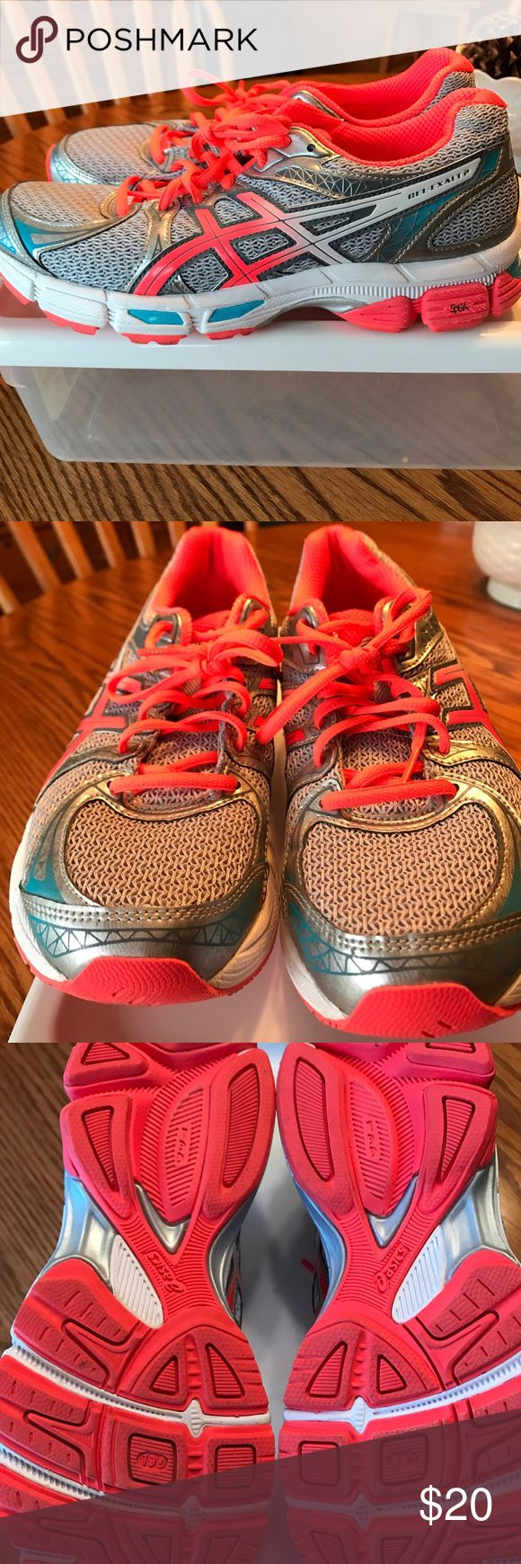 Asics women's athletic shoes Asics Gel-Exalt2 women's athletic shoes. Only worn to try on. Do not have box. Priced to sell. Smoke free home. Asics Shoes Athletic Shoes
