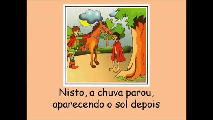 Músicas para o Jardim de infância - A lenda de São Martinho - Retirado do youtube (Alda C. Fernandes)