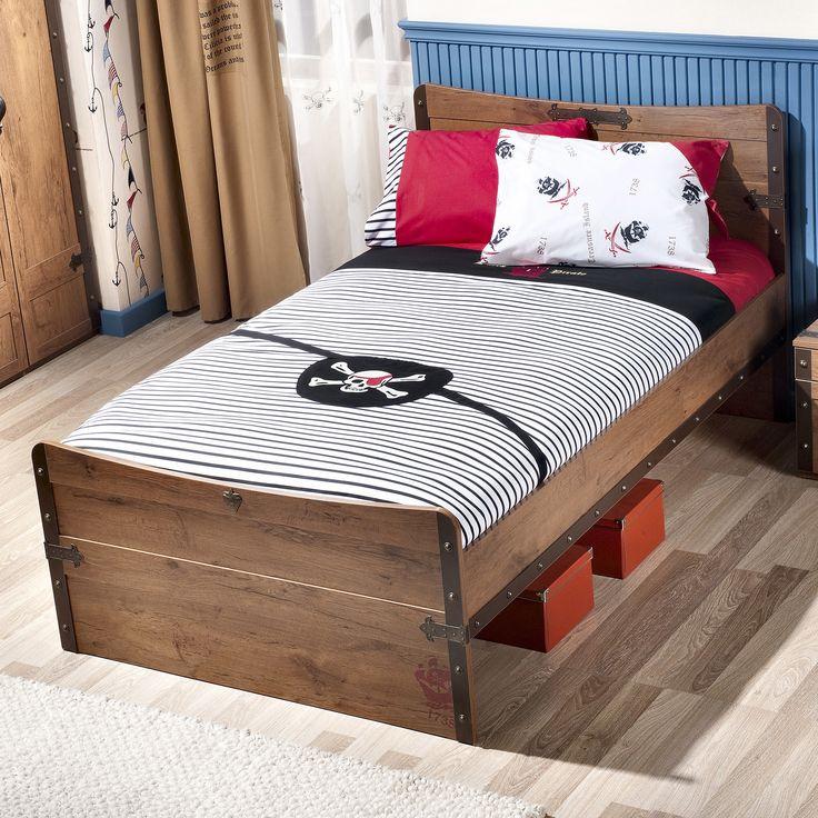 Pirate 4 Piece Toddler Bedding Set