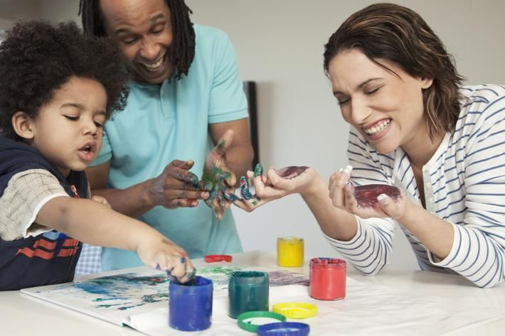 Maak samen met je kinderen een 3D schilderij!