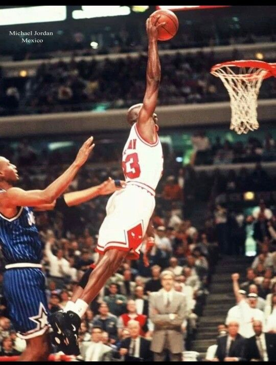 The GOAT Gets Past Penny Hardaway For Dunk In Chicago Definition Fitness