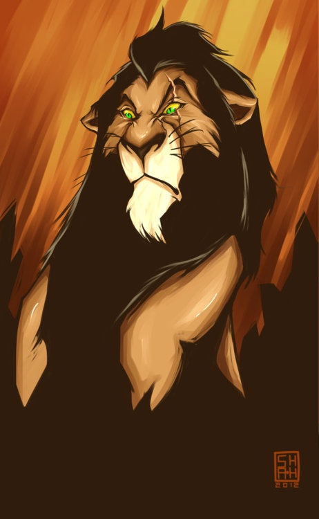 """*SCAR ~ Lion King (NO ONE is as truly """"Leo"""" as me!)"""