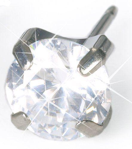 Blomdahl 6mm Round CZ Prong Set Earrings Blomdahl. $70.00. Comfortable. Safe. Elegant
