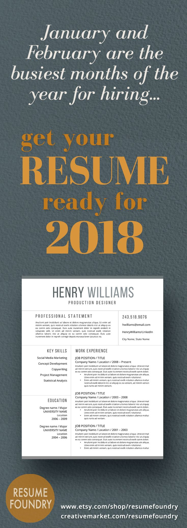 Hiring is about to pick up for January and February - don't wait to update your resume. Instantly download a professionally designed resume template today and be ready for the job openings come New Year.