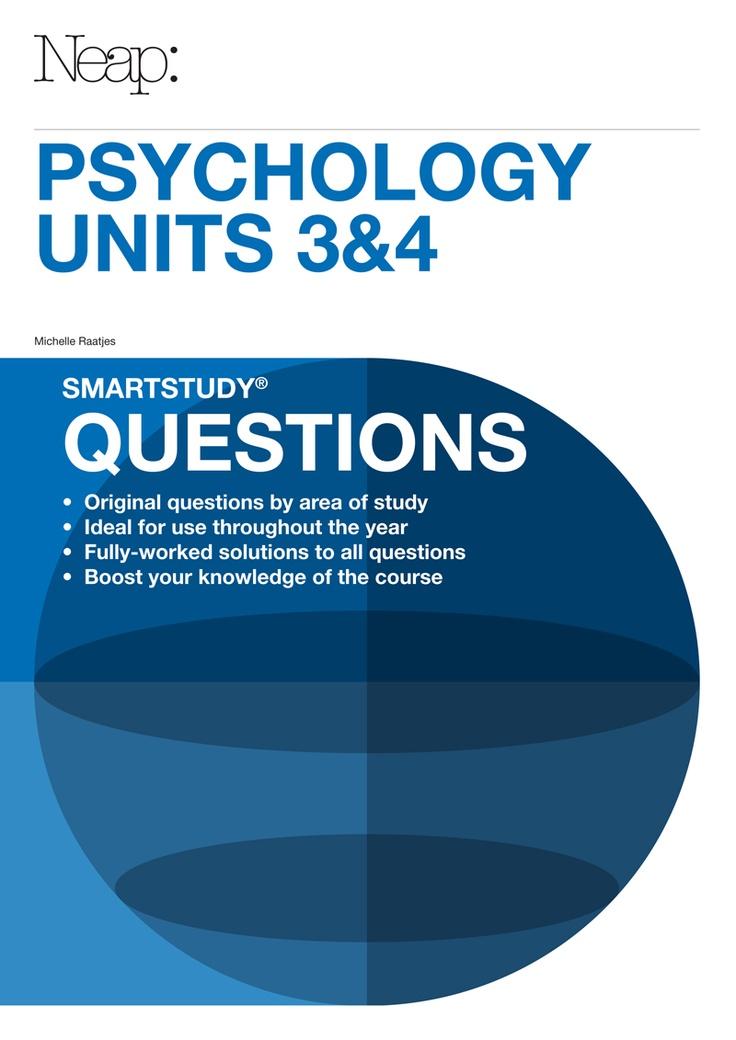 Psychology Units 3&4 smartstudy® Questions Guide