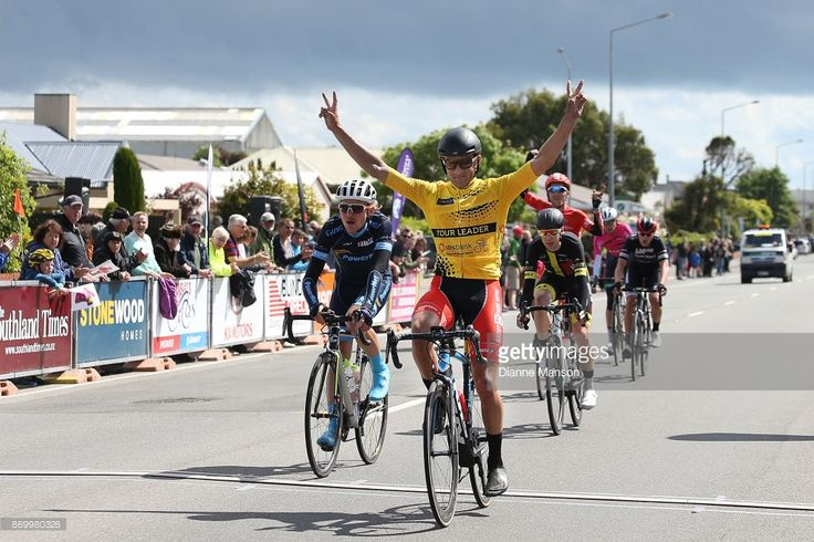 #TourofSouthland James Piccoli of Canada, Kia Motors - Ascot Park Hotel (KAP), wins the 2017 Tour of Southland on November 4, 2017 in Invercargill, New Zealand.