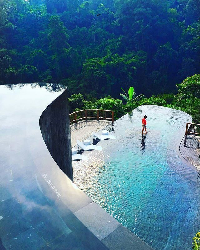 Hanging Gardens of Bali, Indonesia. Photography by @_letstravel_