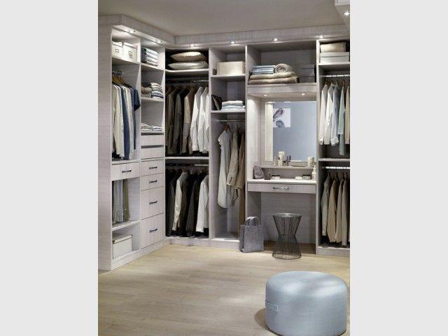 Formidable Dressing Avec Coiffeuse #9: Rangements : Dix Dressings Malins Pour Optimiser Sa Chambre