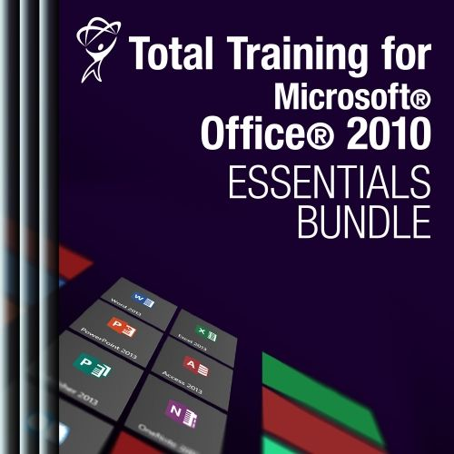 Microsoft® Office® 2010: Essentials Bundle Training Included in the bundle:  Office 2010: New Features Office 2010: Shared Features Access 2010: Essentials Excel 2010: Essentials Outlook 2010 PowerPoint 2010 Word 2010