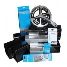 Shimano Dura-Ace Di2 9070 11 Speed 175mm Groupset 2013 Silver - www.store-bike.com