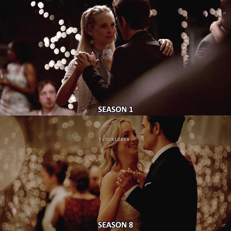 #TVD 1x04|8x15 - #CarolineForbes #StefanSalvatore
